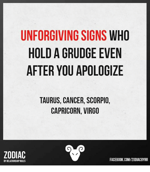UNFORGIVING SIGNS WHO HOLD a GRUDGE EVEN AFTER YOU APOLOGIZE