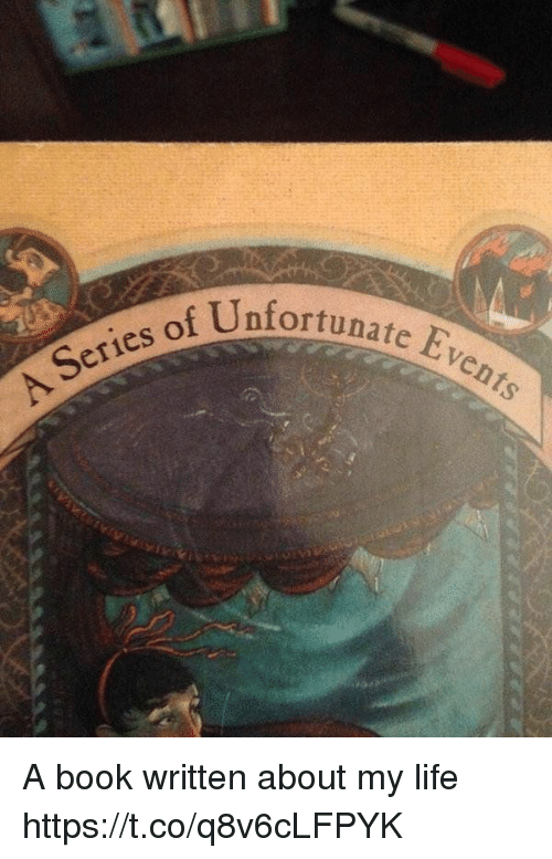 Evees: Unfortunate Eve  Series of A book written about my life https://t.co/q8v6cLFPYK