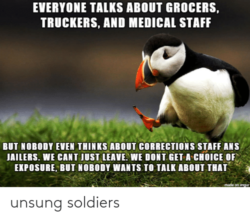 Soldiers: unsung soldiers