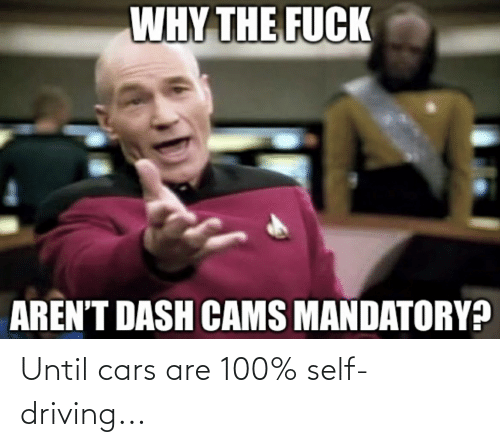 cars: Until cars are 100% self-driving...