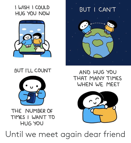 dear: Until we meet again dear friend