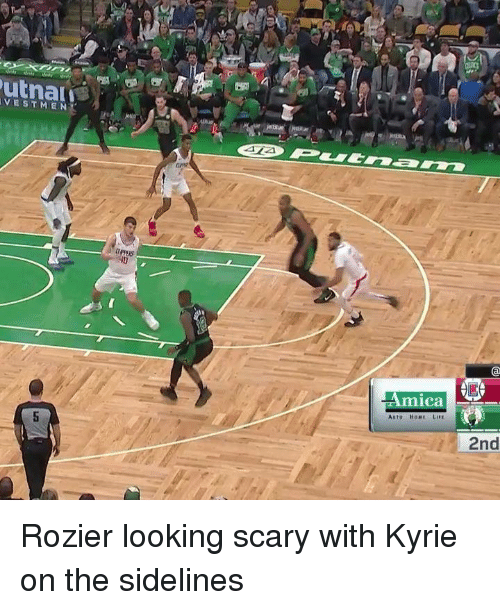 mica: VESTMEN  PPERS  mica  Auto HoME LIrE  2nd Rozier looking scary with Kyrie on the sidelines