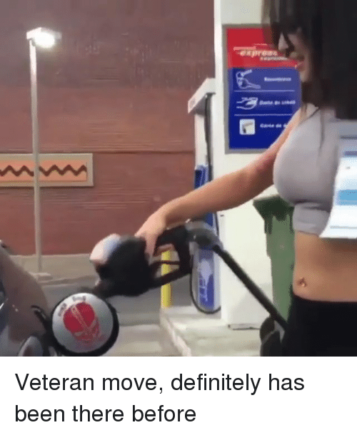 Definitely, Memes, and Been: Veteran move, definitely has been there before