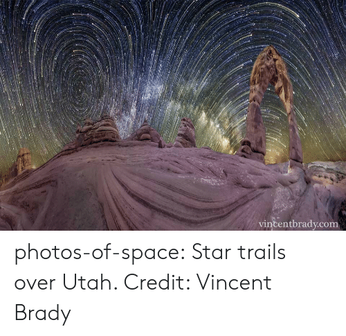 Tumblr, Blog, and Space: vincentbrady.com photos-of-space:  Star trails over Utah. Credit: Vincent Brady