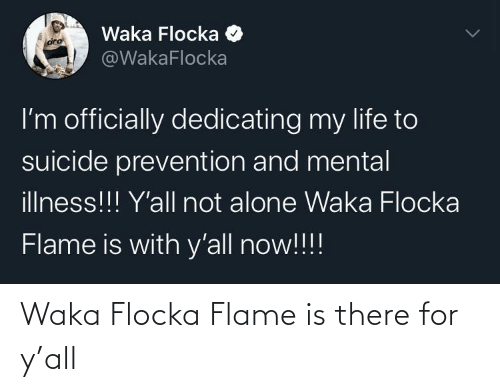 Ÿ˜˜: Waka Flocka Flame is there for y'all