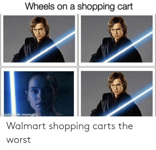 Walmart: Walmart shopping carts the worst