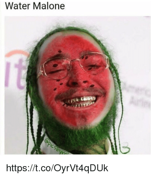 malone: Water Malone  IC https://t.co/OyrVt4qDUk