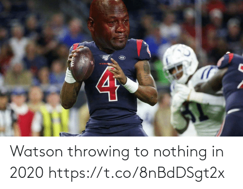 nothing: Watson throwing to nothing in 2020 https://t.co/8nBdDSgt2x
