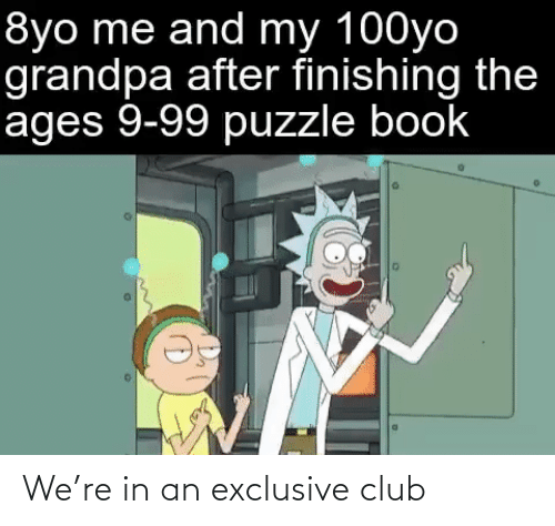 club: We're in an exclusive club
