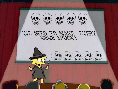 Spooky: WE NEED TO MARE. EVERY  MEME SPOOKY  mon