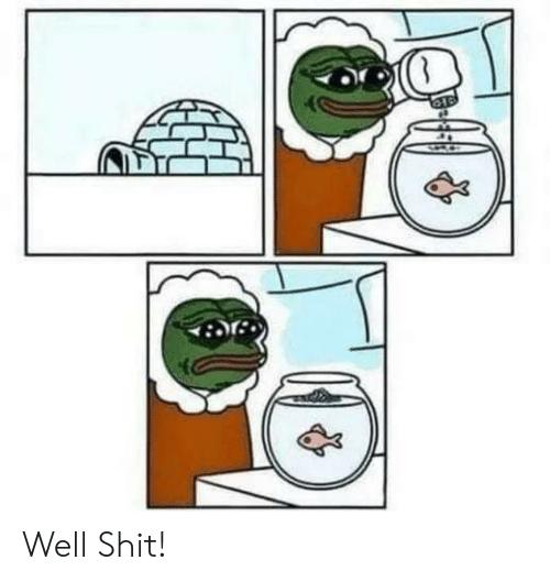 Shit and Well: Well Shit!