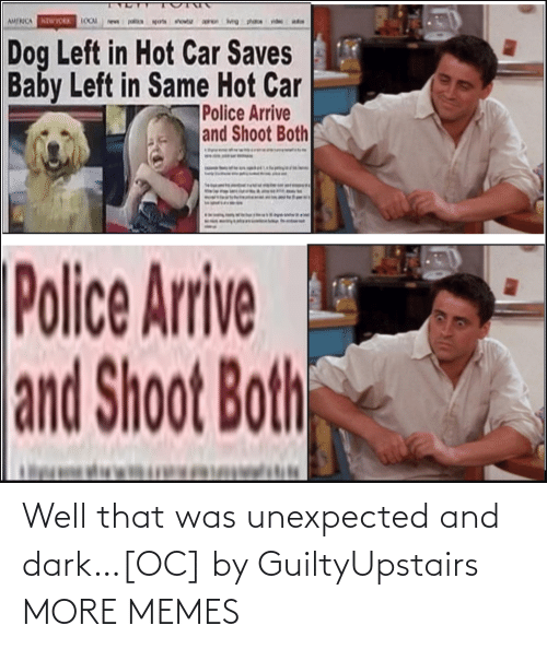 Well That: Well that was unexpected and dark…[OC] by GuiltyUpstairs MORE MEMES