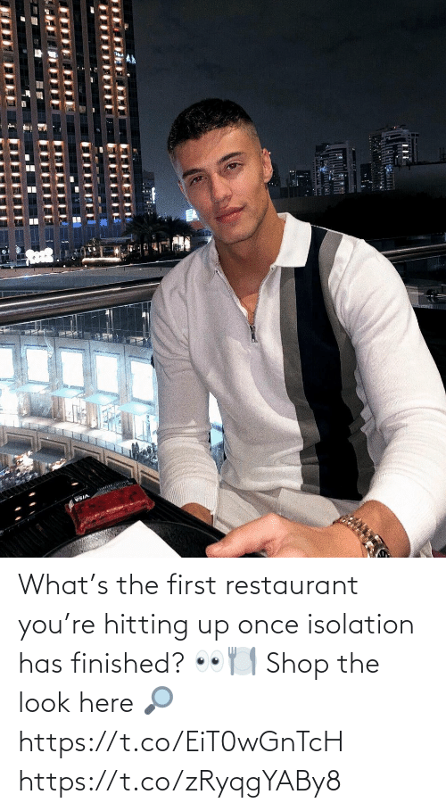 Restaurant: What's the first restaurant you're hitting up once isolation has finished? 👀🍽  Shop the look here 🔎 https://t.co/EiT0wGnTcH https://t.co/zRyqgYABy8