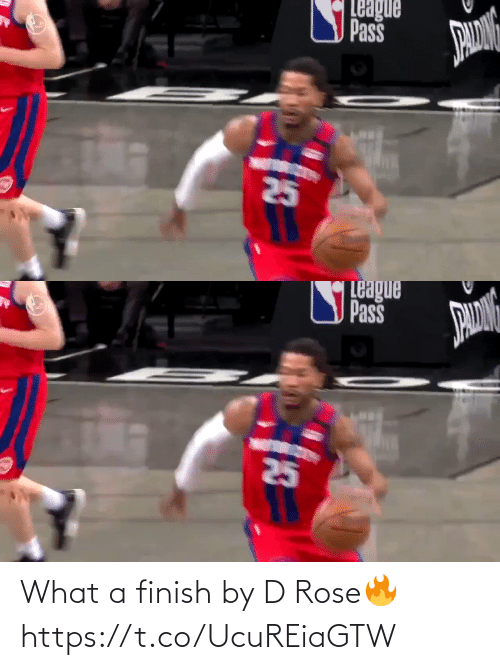 Rose: What a finish by D Rose🔥 https://t.co/UcuREiaGTW