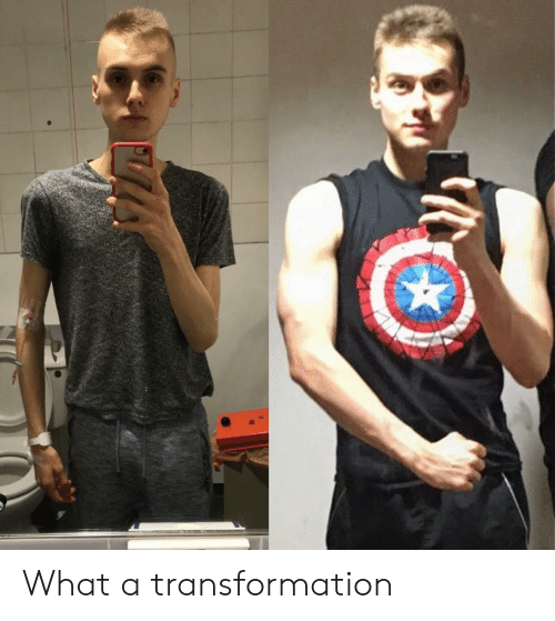 transformation: What a transformation