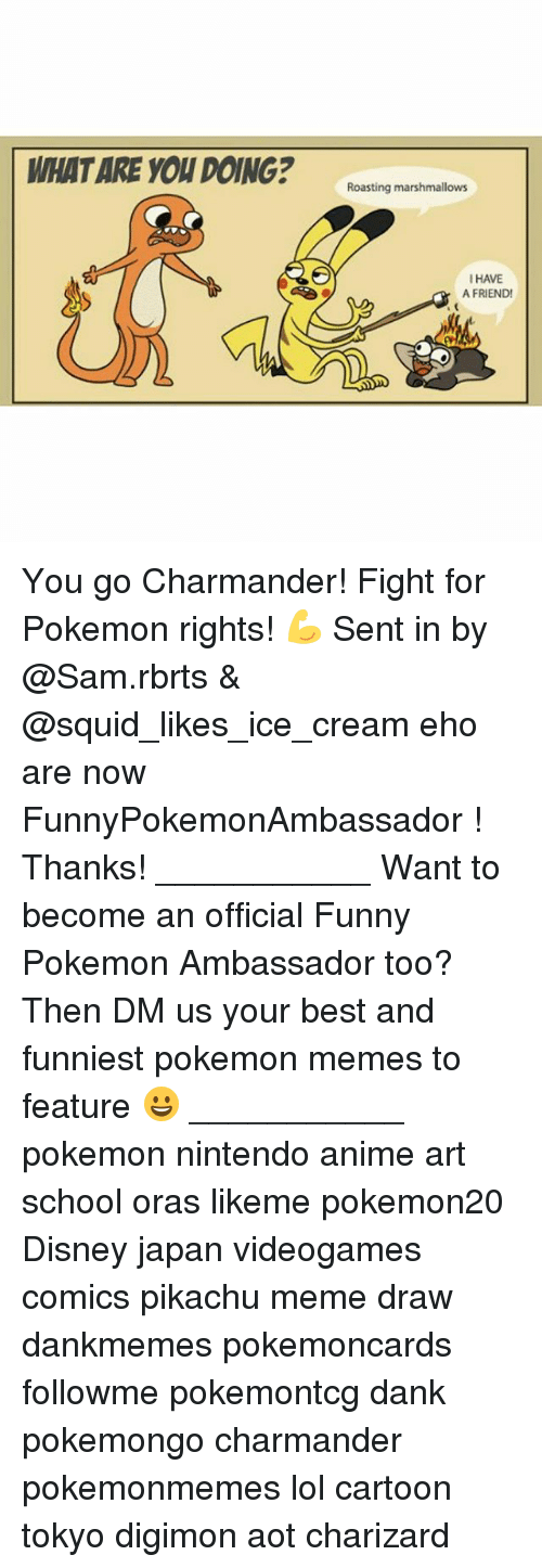 Pikachu Memes: WHAT ARE YOU DOING?ating nanmalon  I HAVE  A FRIEND You go Charmander! Fight for Pokemon rights! 💪 Sent in by @Sam.rbrts & @squid_likes_ice_cream eho are now FunnyPokemonAmbassador ! Thanks! ___________ Want to become an official Funny Pokemon Ambassador too? Then DM us your best and funniest pokemon memes to feature 😀 ___________ pokemon nintendo anime art school oras likeme pokemon20 Disney japan videogames comics pikachu meme draw dankmemes pokemoncards followme pokemontcg dank pokemongo charmander pokemonmemes lol cartoon tokyo digimon aot charizard