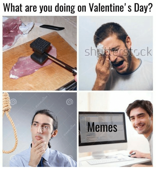 Valentines Day Meme: What are you doing on Valentine's Day?  Meme