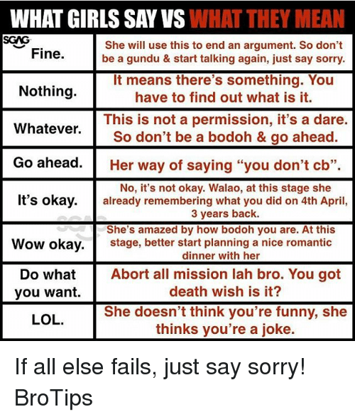 funniest things to say to a girl