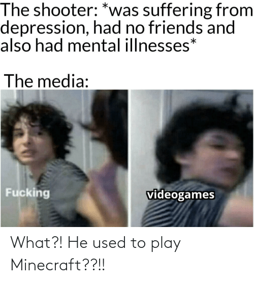 used: What?! He used to play Minecraft??!!
