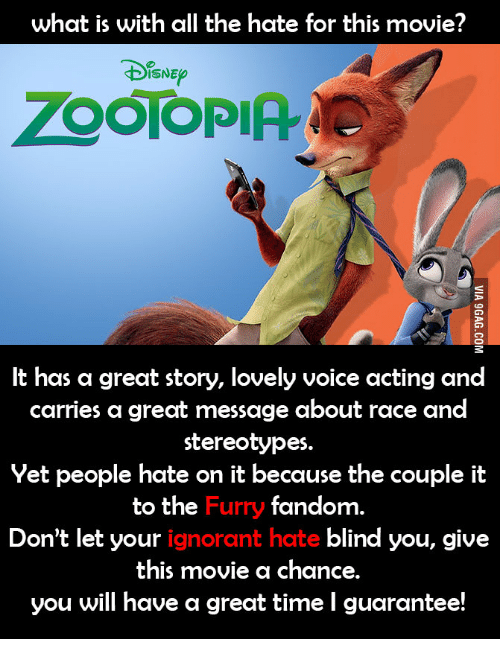 what is with all the hate for this movie disne 14467265 what is with all the hate for this movie? disne zootopia it has a