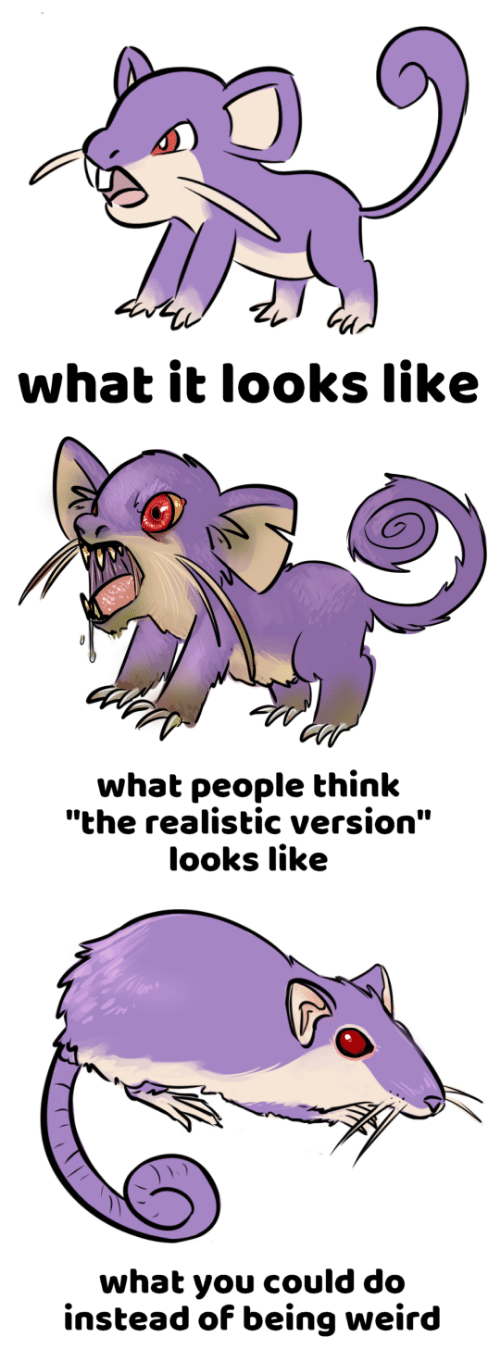 """What People Think: what it looks like   what people think  """"the realistic version""""  looks like   what you could do  instead of being weird"""