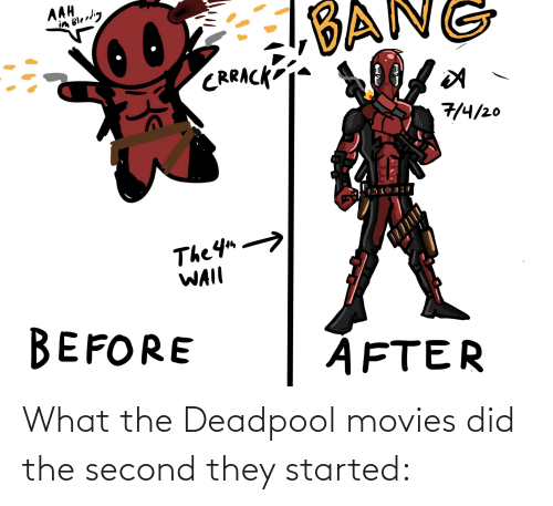 Deadpool: What the Deadpool movies did the second they started: