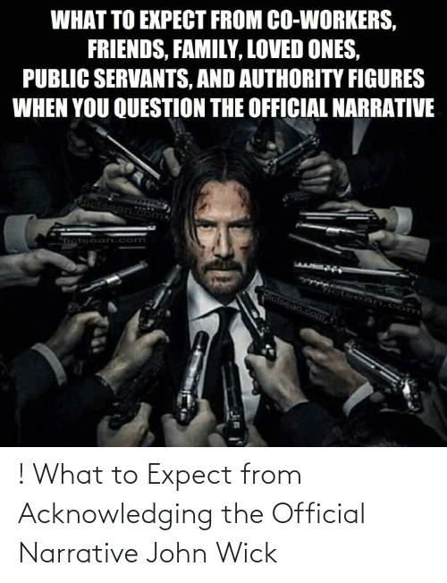 john wick: ! What to Expect from Acknowledging the Official Narrative John Wick