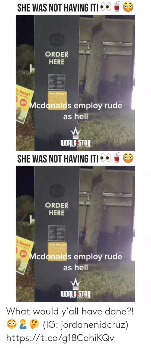 done: What would y'all have done?! 😳🤦♂️🤔 (IG: jordanenidcruz) https://t.co/g18CohiKQv