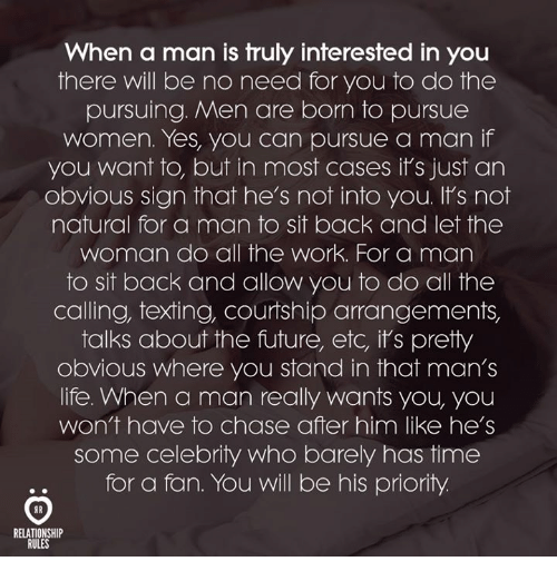how to tell if a man is interested in you
