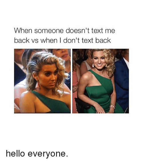 Dont Text Back