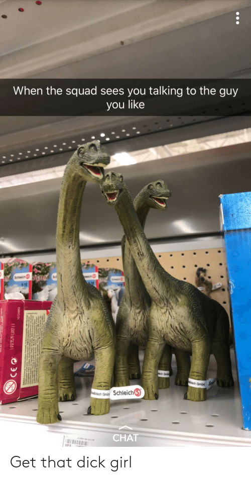 When The Squad: When the squad sees you talking to the guy  you like  5-12  Gmünd  on Schleich⑤  CHAT Get that dick girl