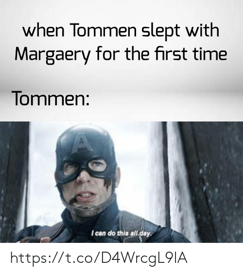 Time, Can, and Day: when Tommen slept with  Margaery for the first time  Tommen:  I can do this all.day https://t.co/D4WrcgL9lA