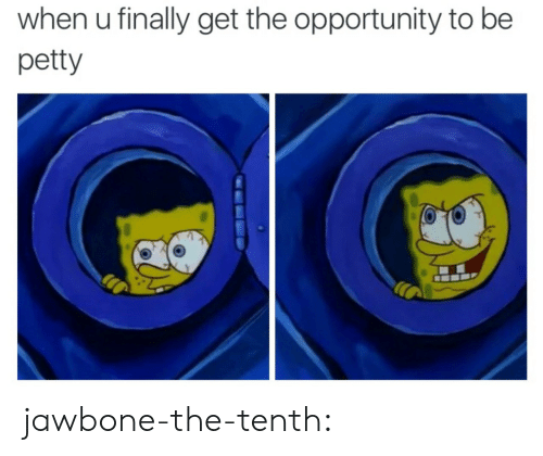 Petty, Target, and Tumblr: when u finally get the opportunity to be  petty jawbone-the-tenth: