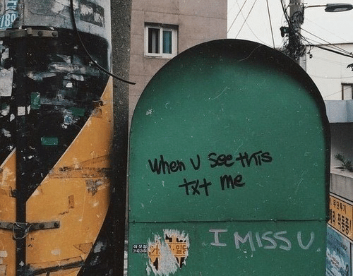 Miss, I Miss U, and When: when V SeeTs  I MISS U