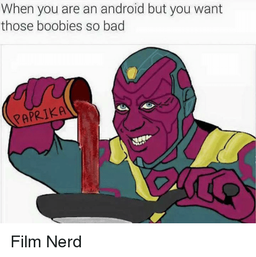 Boobis: When you are an android but you want  those boobies so bad  PAPRIKA Film Nerd