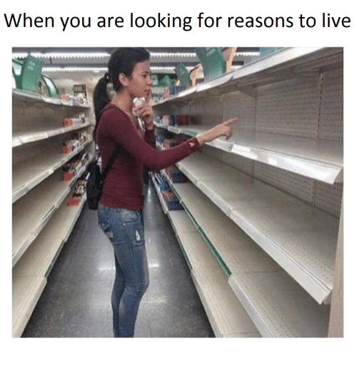 Live, Looking, and You: When you are looking for reasons to live