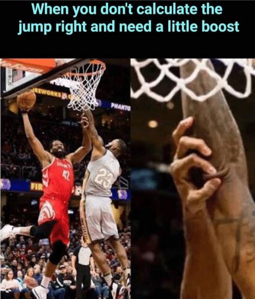 Boost, You, and Fir: When you don't calculate the  jump right and need a little boost  REWORKS  PHANTO  MEN  42  FIR