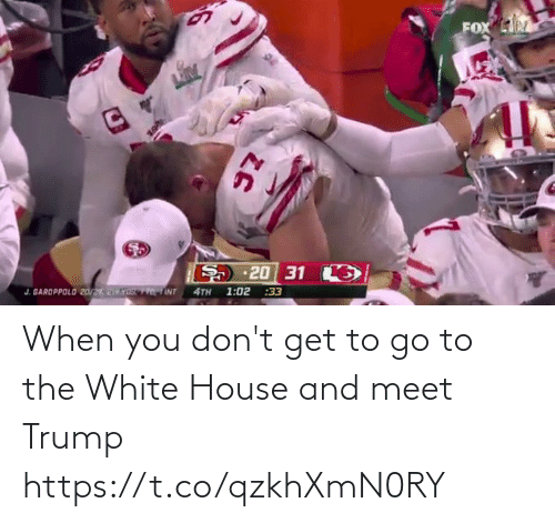 the white house: When you don't get to go to the White House and meet Trump https://t.co/qzkhXmN0RY