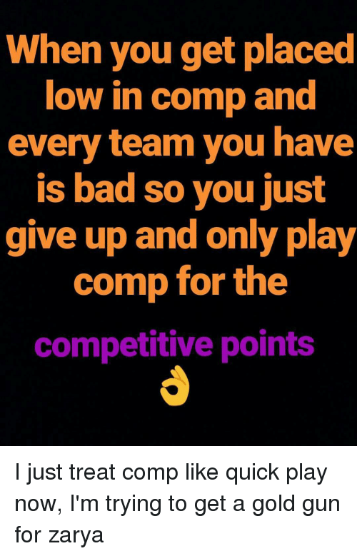 how to get competitive points