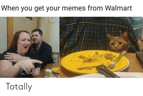 Your Memes: When you get your memes from Walmart  mofio.com Totally