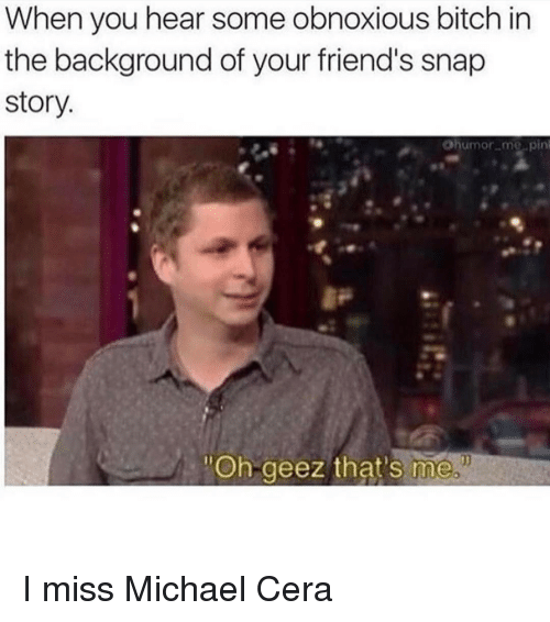 Michael is a bitch — 5
