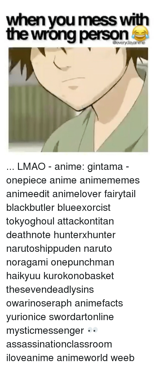 Fandom, Gintama, and Fairytail: when you mess with  the wrong person ... LMAO - anime: gintama - onepiece anime animememes animeedit animelover fairytail blackbutler blueexorcist tokyoghoul attackontitan deathnote hunterxhunter narutoshippuden naruto noragami onepunchman haikyuu kurokonobasket thesevendeadlysins owarinoseraph animefacts yurionice swordartonline mysticmessenger 👀 assassinationclassroom iloveanime animeworld weeb