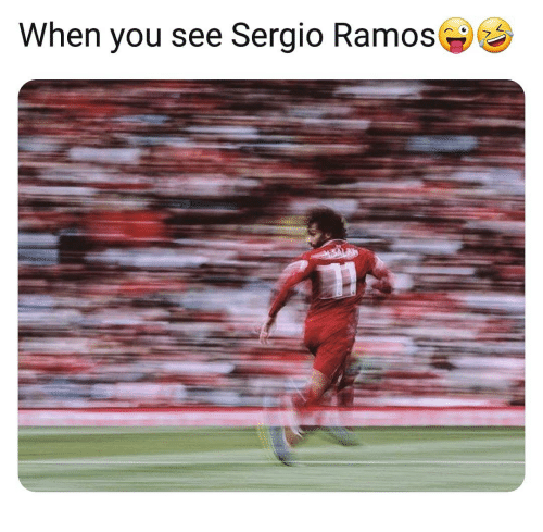 Memes, 🤖, and Sergio Ramos: When you see Sergio Ramos