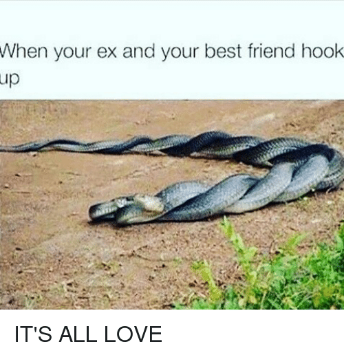 What to do when hookup your best friend