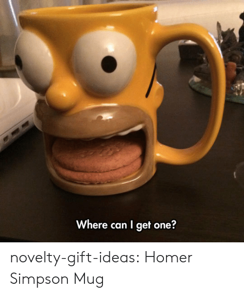 Homer Simpson, Tumblr, and Blog: Where can I get one? novelty-gift-ideas:    Homer Simpson Mug