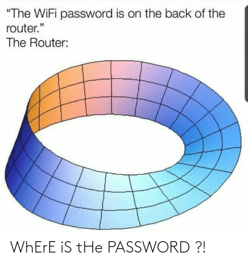 Where: WhErE iS tHe PASSWORD ?!