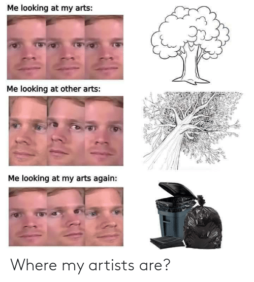 Are: Where my artists are?