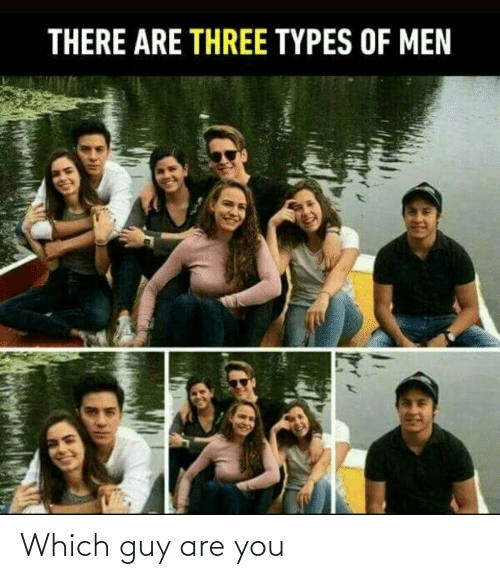 are you: Which guy are you