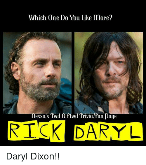 Which One Do You Like More Essas Twd 6 Wd Trivialfan Page Risk