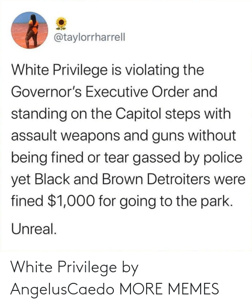 White Privilege: White Privilege by AngelusCaedo MORE MEMES